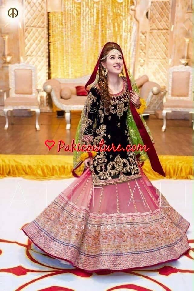 Mehndi Party Dress Code : Mehendi dresses dulhan mehndi wear collection at pakicouture buy pakistani fashion