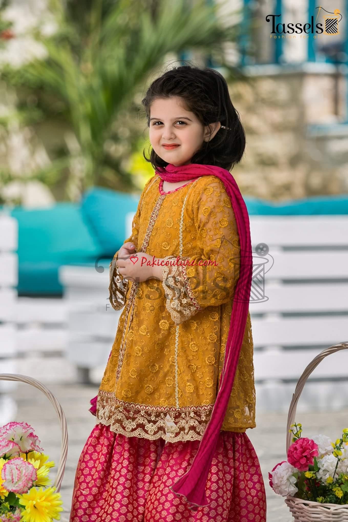 Tassels Kids Rangeen Vol-1 Eid Girls Collection 2019 Shop