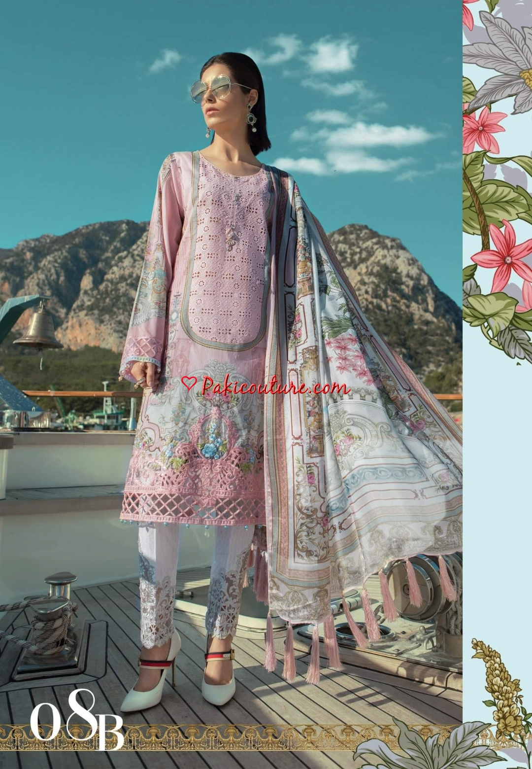Maria B Spring Summer Luxury Lawn Collection 2019 Buy