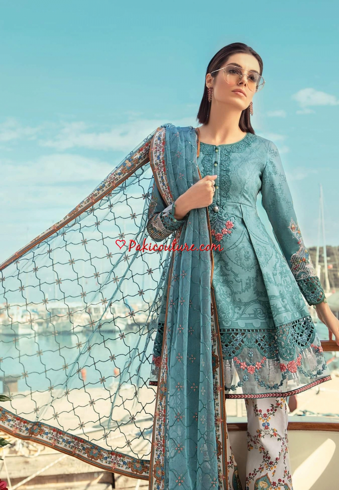 a155f2dad9 Maria.B Spring Summer Luxury Lawn Collection 2019   Buy Pakistani ...