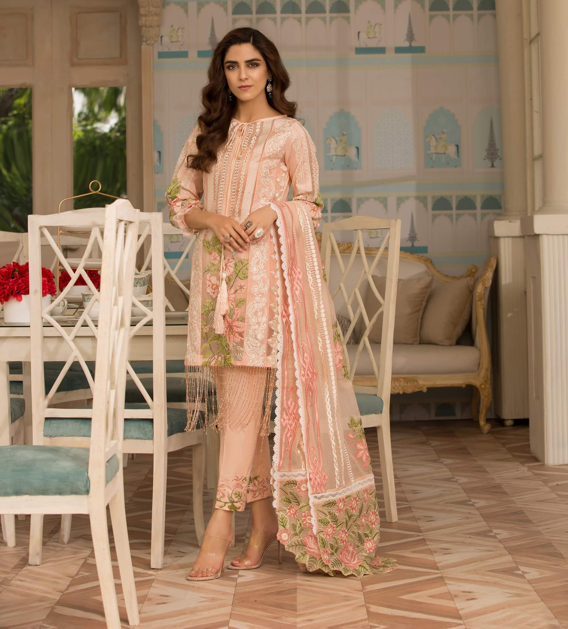 564790fd32 Crimson Luxury Festive Eid 2019 | Saira Shakira Lawn Collection Shop ...