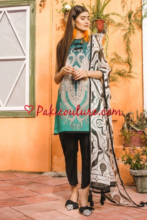 e3770f619fa1 Dar Volume-02 | Ethnic SS Lawn Collection 2019 Shop Online | Buy ...