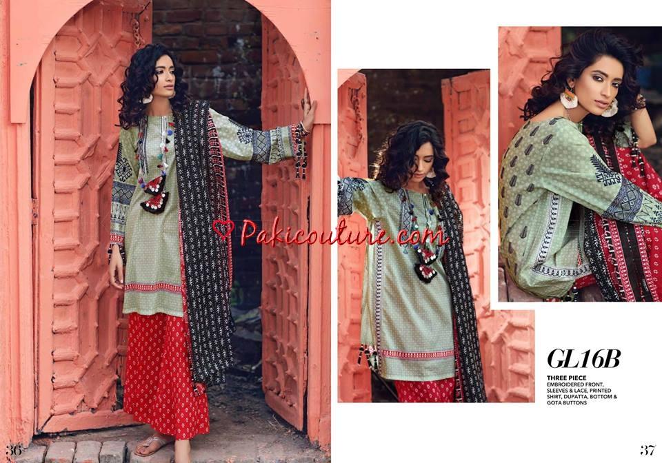 71982964d1 Gul Ahmed Gypsy Folk Lawn Collection 2019 Shop Online | Buy ...