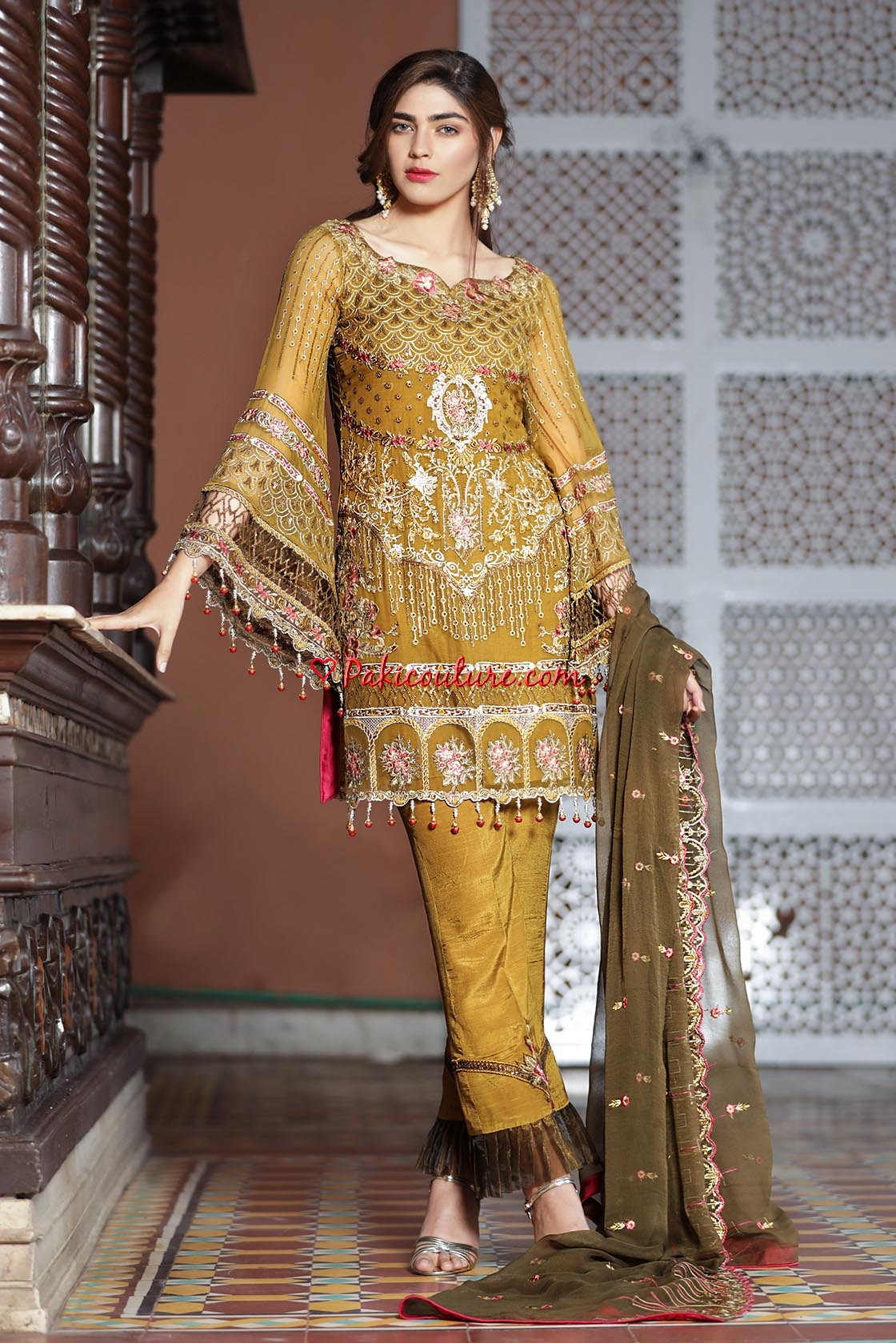 b759490a6e Maryam's Gold Luxury Chiffon Volume-03 Eid Collection 2019 Shop ...