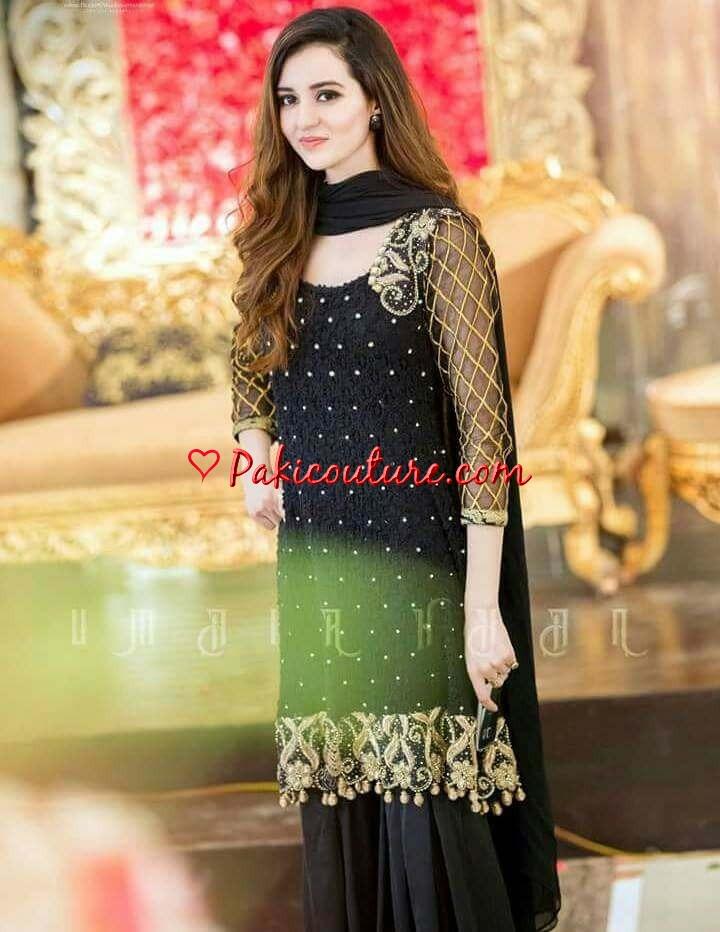Mehendi Dresses \u2013 Dulhan Mehndi Wear Collection at