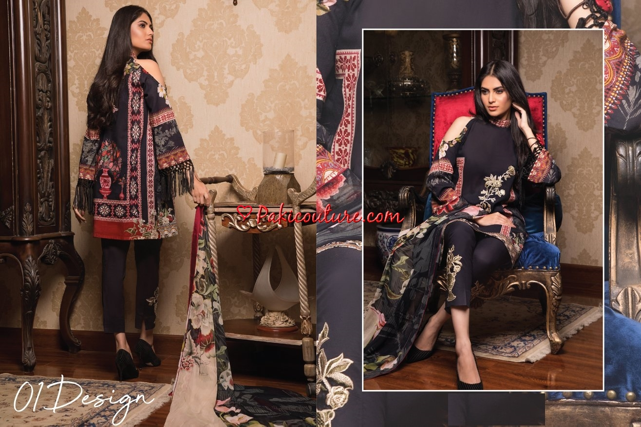 Nimsay Maha Lawn Collection 2019 Shop Online | Buy Pakistani Fashion