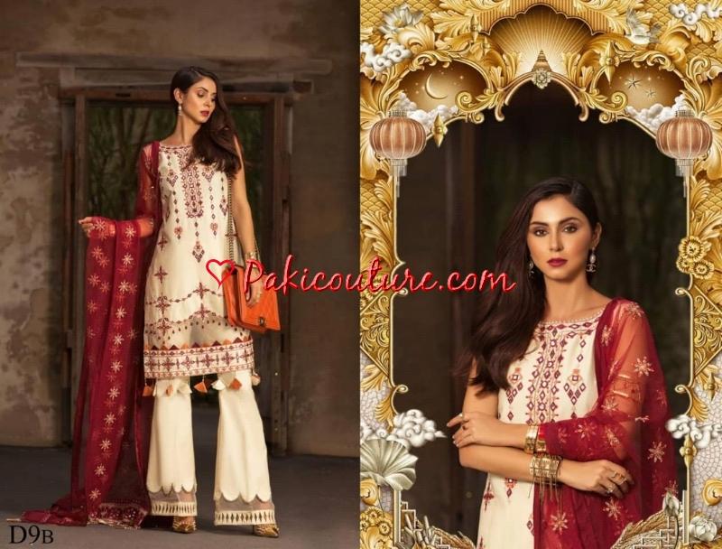 6c4431defd Noor Saadia Asad Luxury Lawn Collection 2019 Online | Buy Pakistani ...