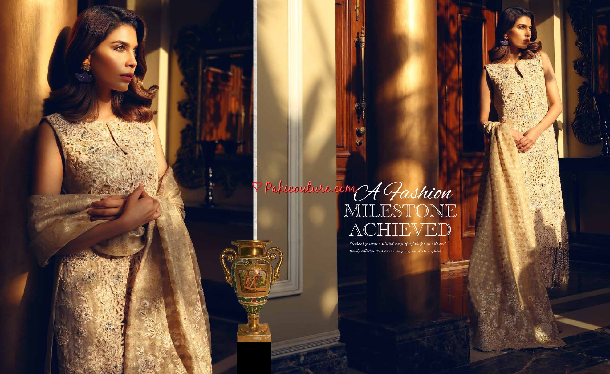 Rehaab Designer Wedding Collection 2019 Shop Onine   Buy Pakistani
