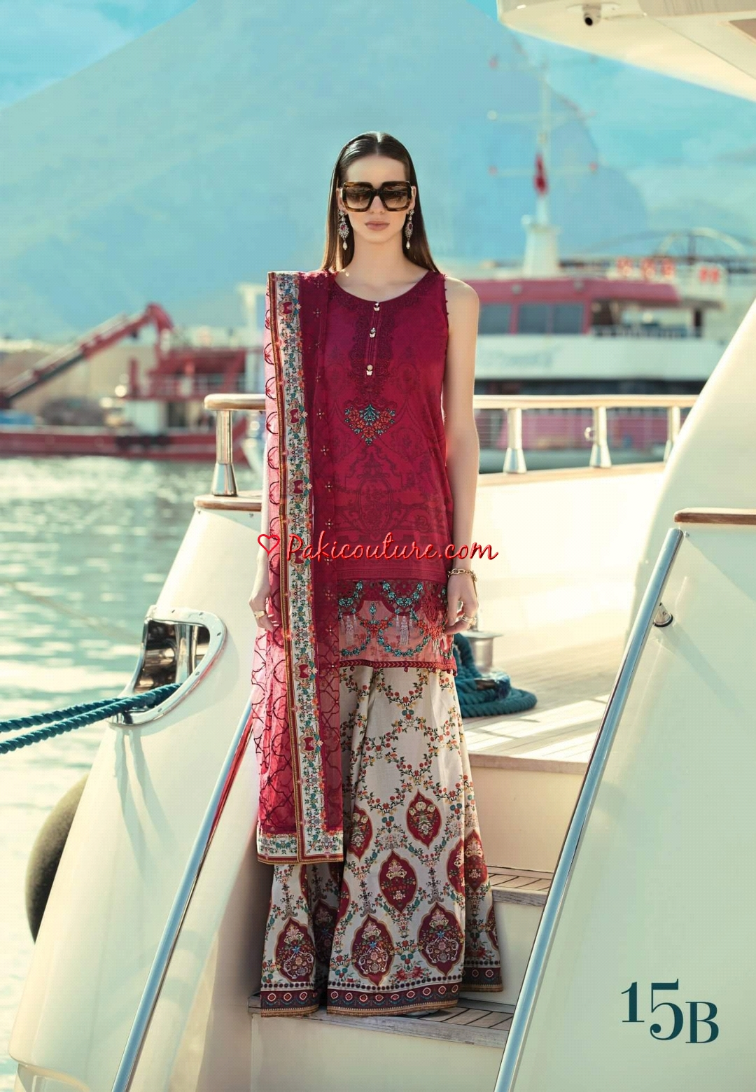 a155f2dad9 Maria.B Spring Summer Luxury Lawn Collection 2019 | Buy Pakistani ...
