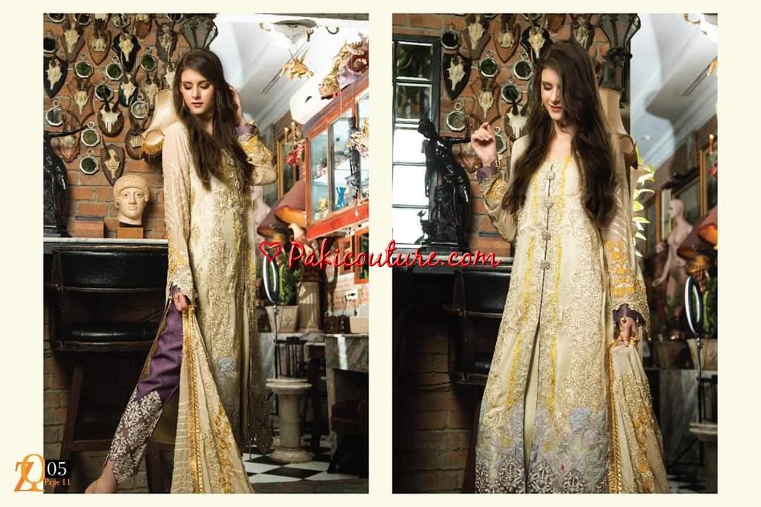 3150ddaa6b Zainab Qayoom Signature Series Chiffon Eid Collection 2019 Shop ...